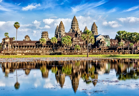 Chrámy Angkoru, velkoměsto Phnom Penh a pláž Sihanoukville - Kambodža