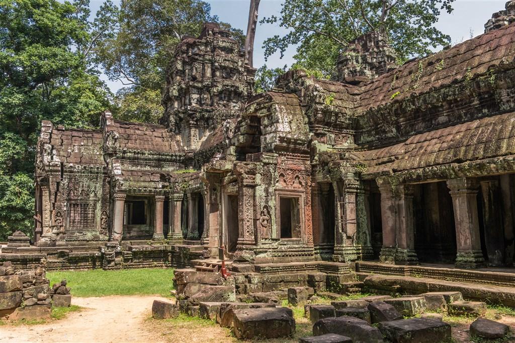 Chrámy Angkoru a pláž Sihanoukville - Kambodža
