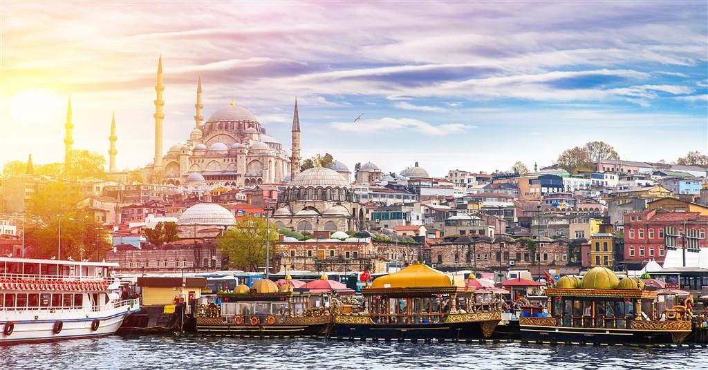 Víkend v Istanbulu - hotely 5* - Turecko