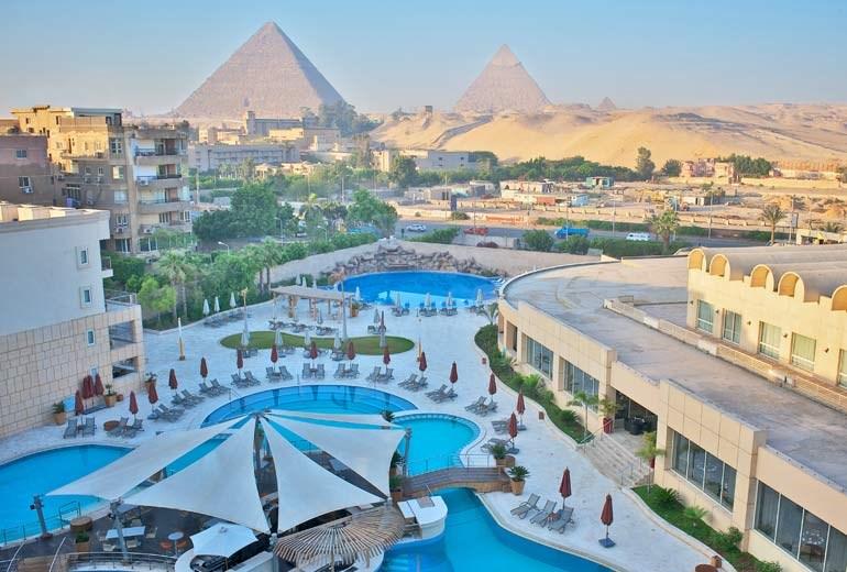 Le Meridien Pyramids Hotel & Spa - Káhira