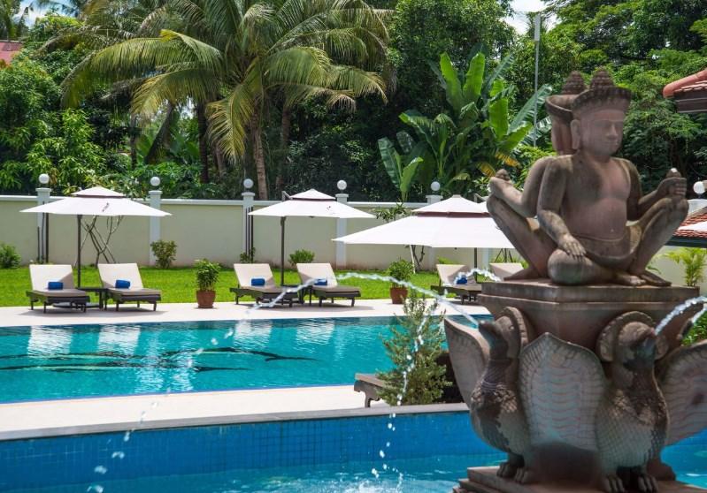 Regency Angkor Hotel - Kambodža