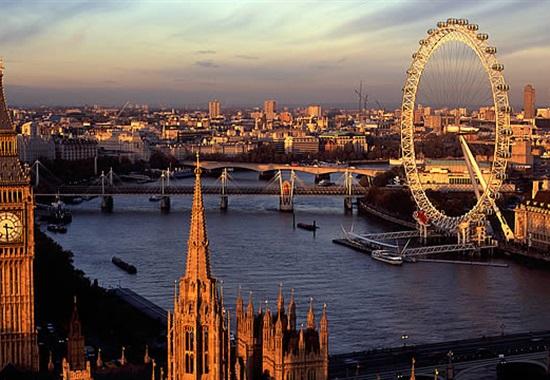 Eurovíkend v Londýně - Velká Británie