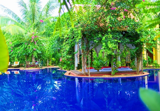 Le Jardin d' Angkor Hotel Siem Reap - Kambodža