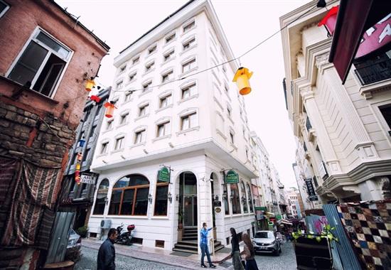 Hotel Centrum Istanbul - Turecko