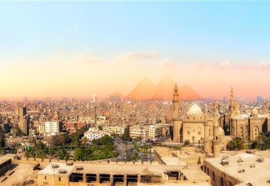Pyramidy v Káhiře & relax u Rudého moře -